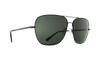 SPY Tatlow Matte Black - HD Plus Grey Green Polarized Sunglasses SUNGLASSES - Spy Sunglasses Spy