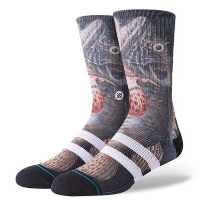 STANCE Taylor Creek Socks Black MENS ACCESSORIES - Men's Socks Stance