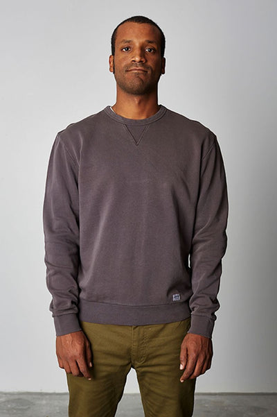 BRIXTON Hackney Crewneck MENS APPAREL - Men's Sweaters and Sweatshirts Brixton