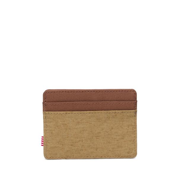 HERSCHEL Charlie Wallet Coyote/Saddle Brown MENS ACCESSORIES - Men's Wallets Herschel Supply Company