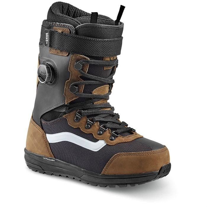 VANS Infuse Snowboard Boots (Pat Moore) Brown/Black 2020 SNOWBOARD BOOTS - Men's Snowboard Boots Vans
