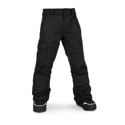 VOLCOM Cargo Insulated Youth Snowboard Pants Black 2020