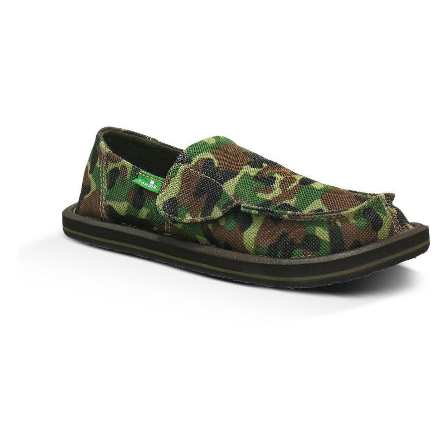 SANUK Army Brat Slip On Toddler FOOTWEAR - Youth Sandals Sanuk GCM 10