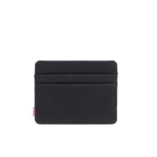 HERSCHEL Charlie Wallet Black MENS ACCESSORIES - Men's Wallets Herschel Supply Company
