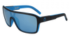 DRAGON Remix Matte Black - Lumalens Sky Blue Ion Sunglasses