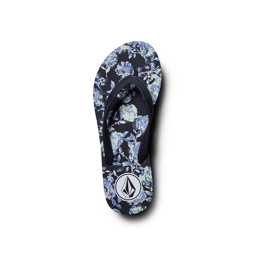 VOLCOM Rocking 3 Sandals Women's Black Combo FOOTWEAR - Women's Sandals Volcom