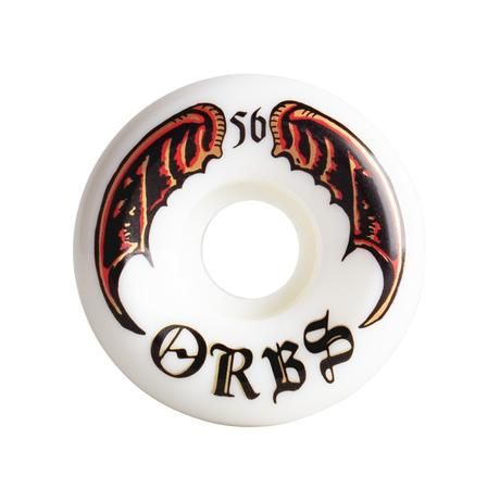 ORBS Specters White 56mm Skateboard Wheels