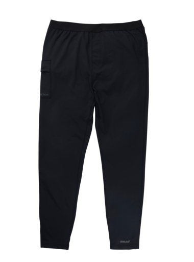 BURTON Heavyweight X Base Layer Pant True Black MENS OUTERWEAR - Men's Snowboard Pants Burton