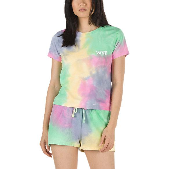 VANS Aura Baby T-Shirt Women's Aura Wash WOMENS APPAREL - Women's T-Shirts Vans
