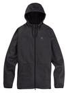 BURTON Crown Crown Weatherproof Full Zip Hoodie True Black Heather