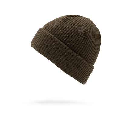 VOLCOM Sweep Lined Beanie Black Military MENS ACCESSORIES - Men's Beanies Volcom