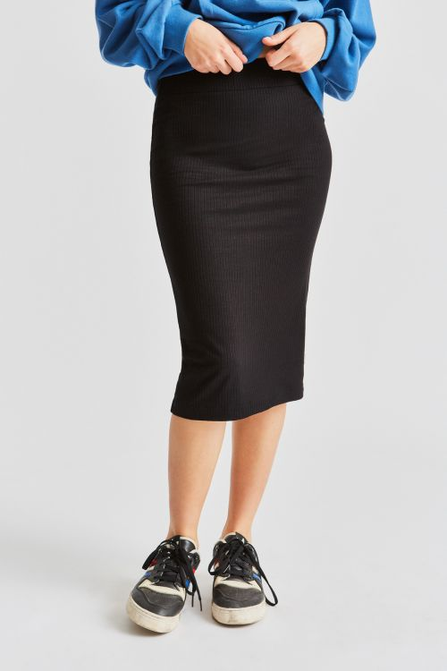 BRIXTON Gigi Pencil Skirt Women's Black