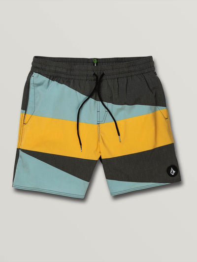 "VOLCOM Knotical 17"" Boardshorts Black MENS APPAREL - Men's Boardshorts Volcom L"
