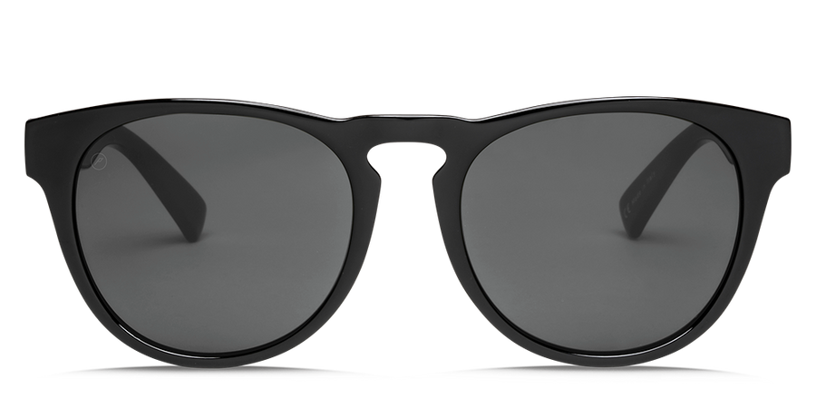 ELECTRIC Nashville XL Matte Black - OHM Polarized Grey Sunglasses
