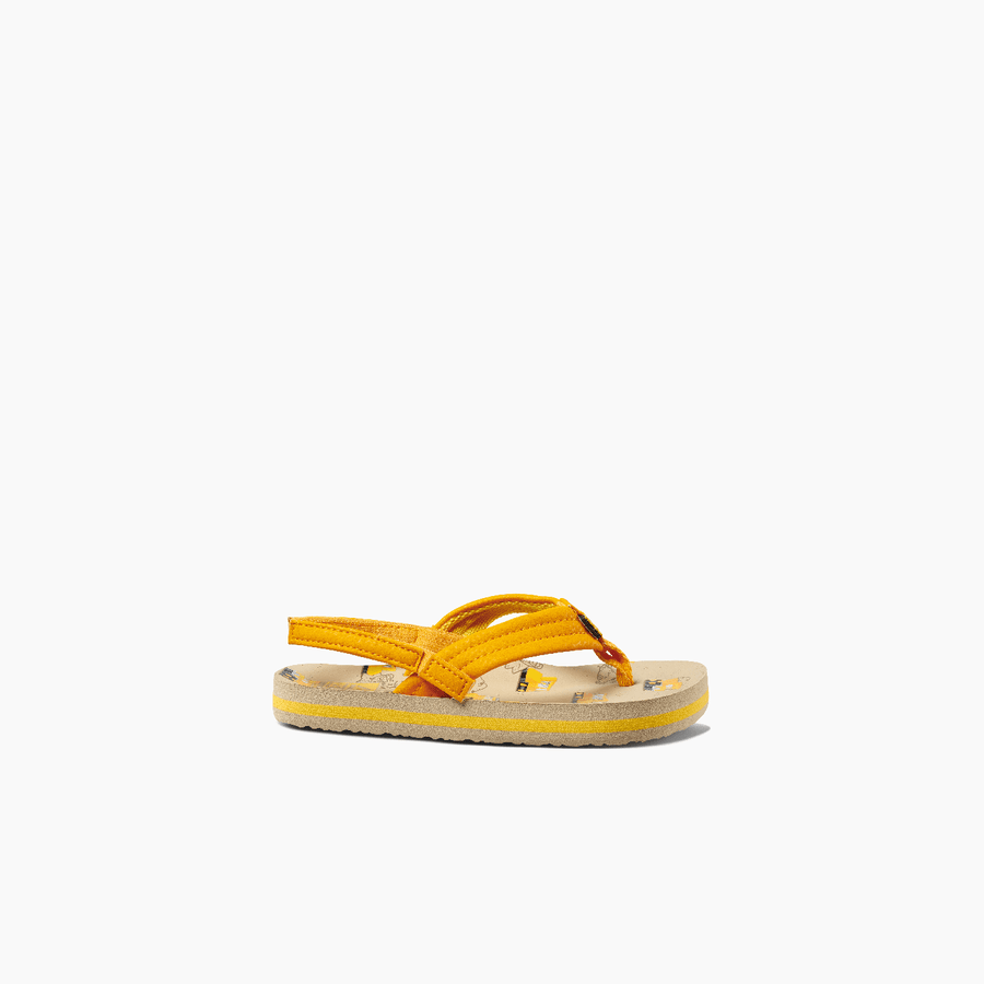 REEF Little Ahi Sandals Kids Sandcastles FOOTWEAR - Youth Sandals Reef 11/12