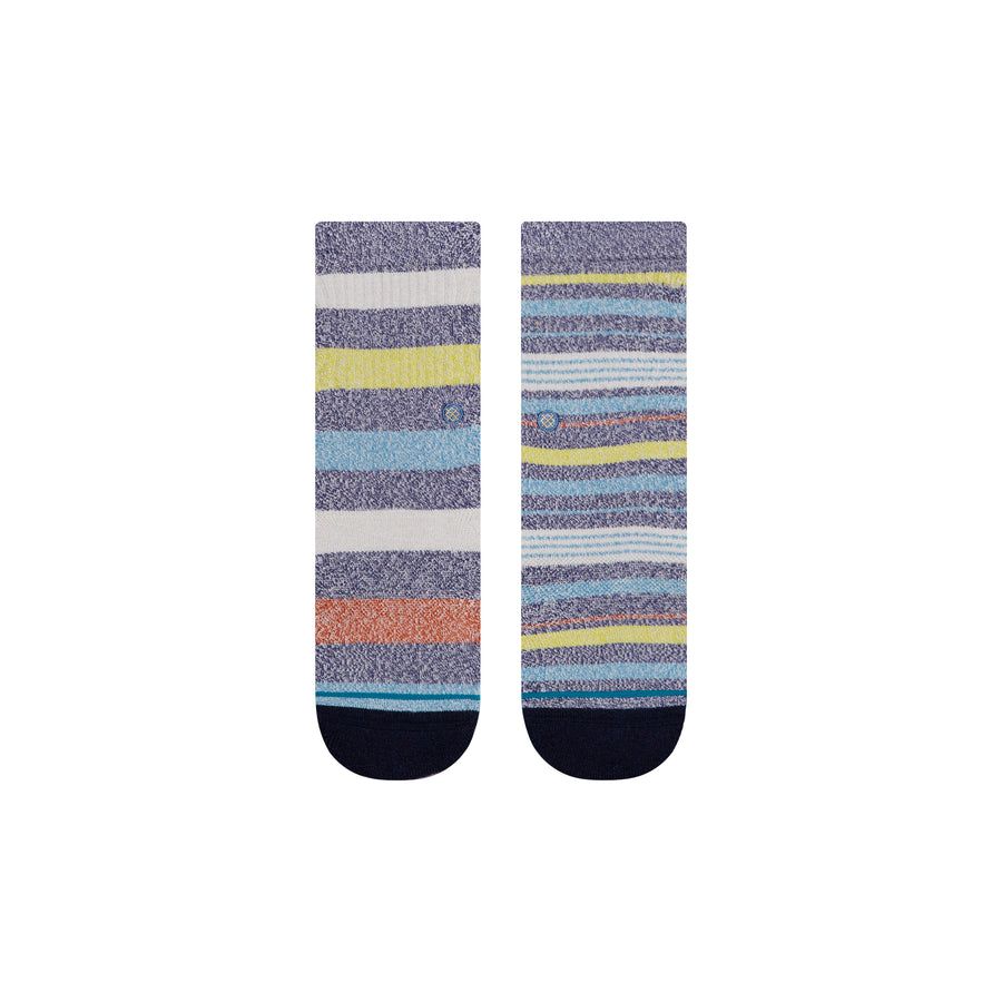 STANCE Curiouser Socks Kids Navy KIDS APPAREL - Boy's Socks Stance