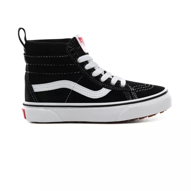 VANS Sk8-Hi MTE Shoes Kids Black/True White FOOTWEAR - Youth and Toddler Skate Shoes Vans