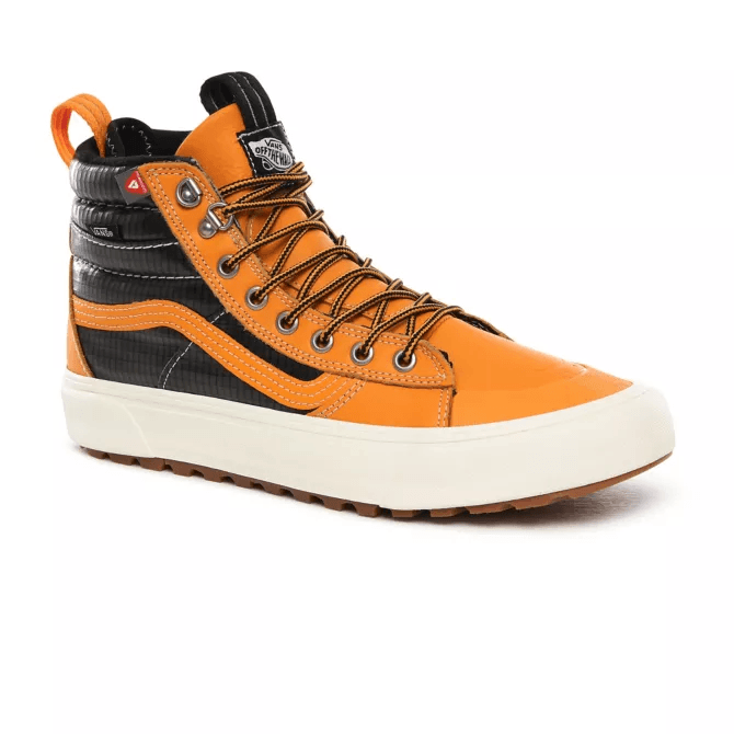 VANS Sk8-Hi MTE 2.0 DX Shoes Apricot/Black FOOTWEAR - Men's Snow Boots Vans