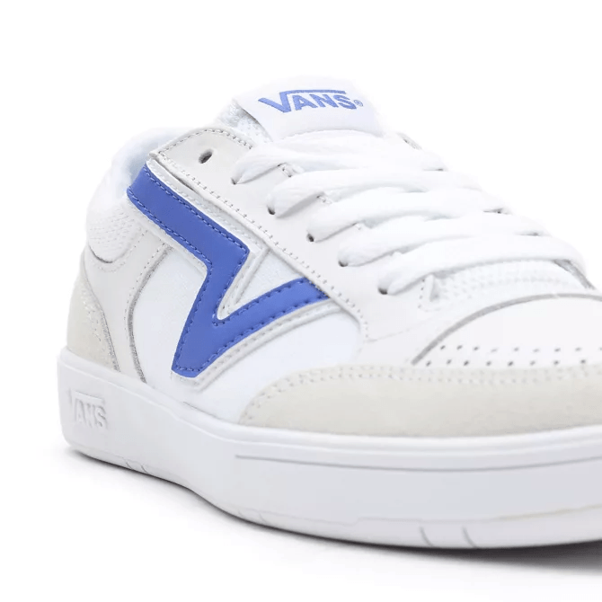 VANS Court Lowland CC Shoes True White/Baja Blue