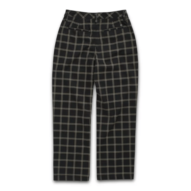 VANS Breana Authentic Plaid Pants Women's Black WOMENS APPAREL - Women's Pants Vans 26