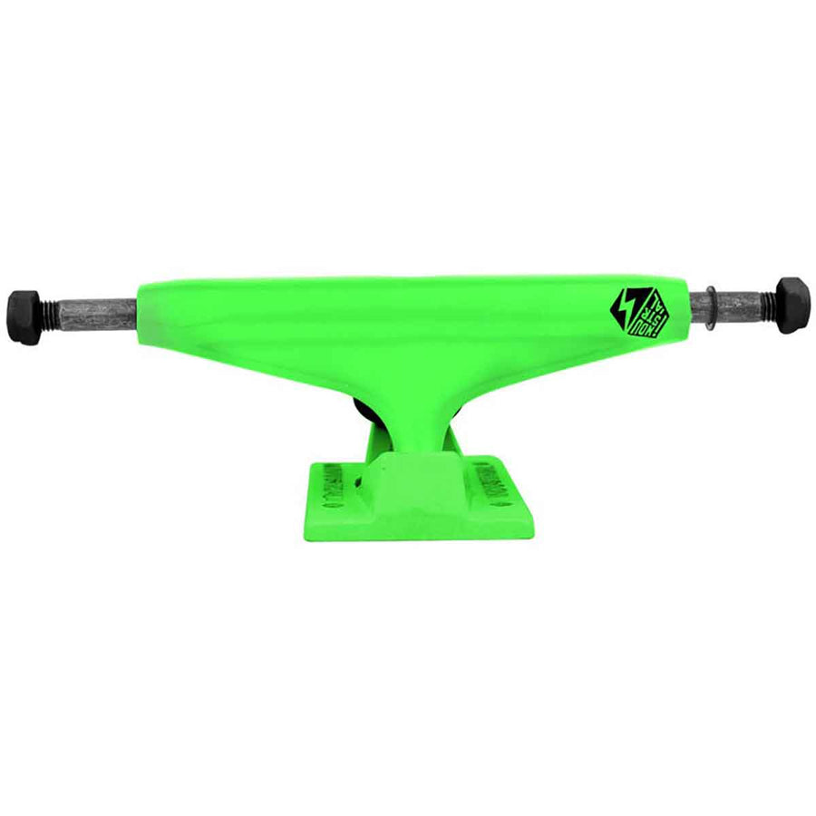INDUSTRIAL Lime Neon 5.25 Skateboard Trucks