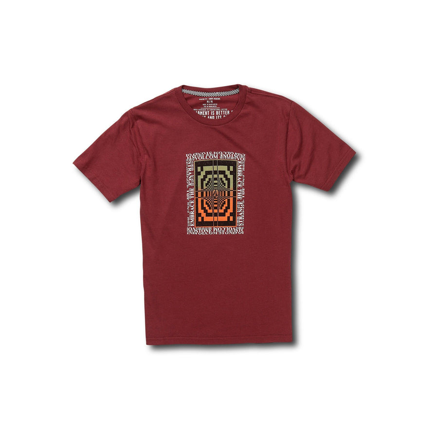 VOLCOM All Ages T-Shirt Youth Cabernet