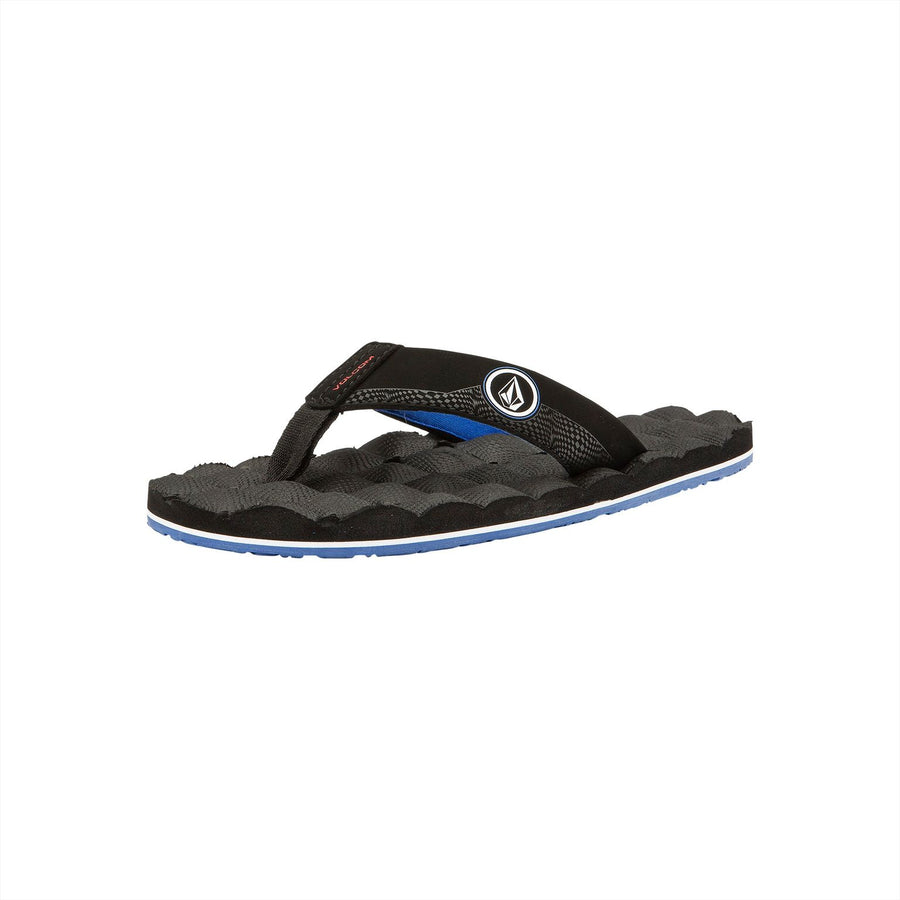 VOLCOM Recliner Sandals Big Youth Star White