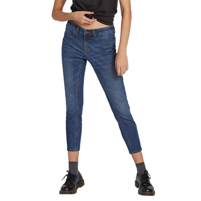 VOLCOM Liberator Legging Denim Women's Indigo Ridge Wash