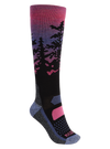 BURTON Performance Midweight Snowboard Socks Women's Sunrise SNOWBOARD ACCESSORIES - Women's Snowboard Socks Burton