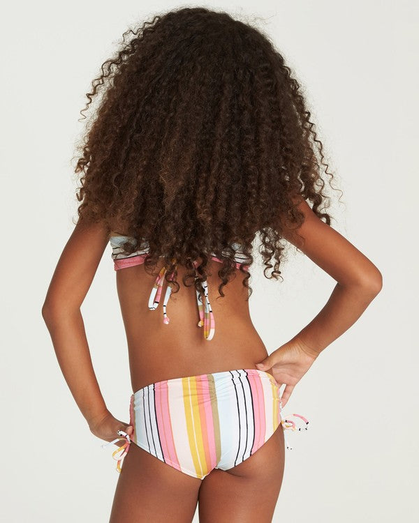 BILLABONG Sunny Song High Neck Bikini Girls Multi