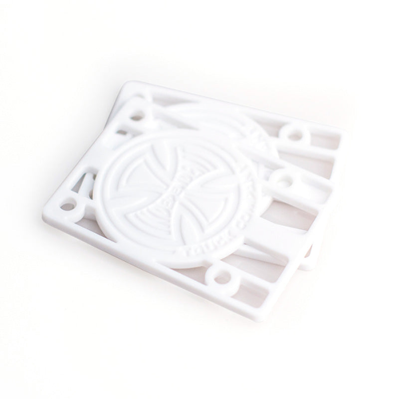 INDEPENDENT 1/8in White Riser Pads