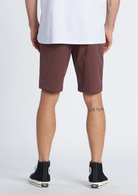 BILLABONG Crossfire Submersible Hybrid Shorts Burgundy