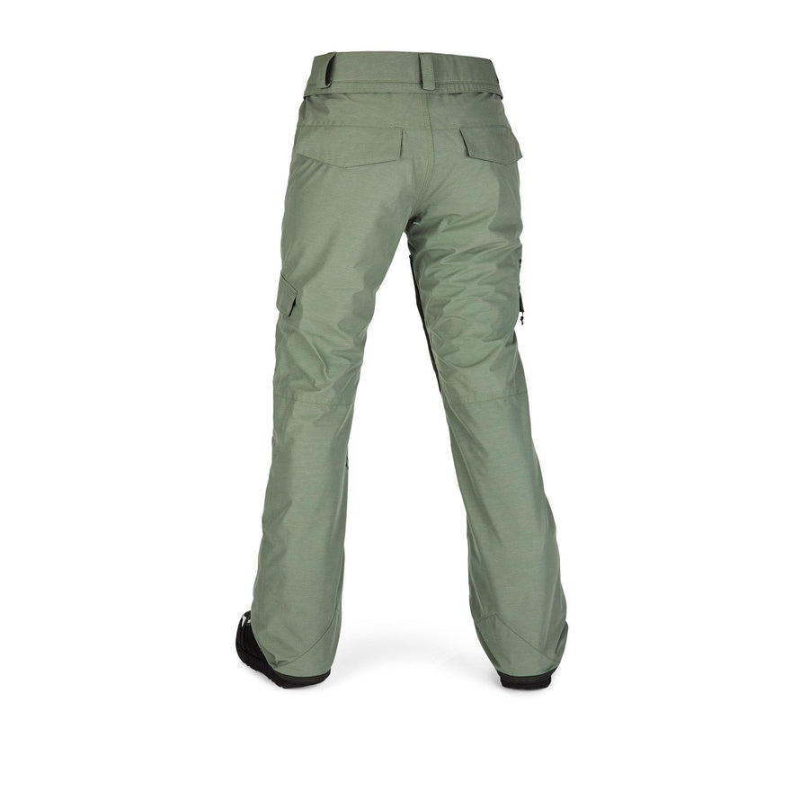 VOLCOM Aston GORE-TEX Snowboard Pants Women's Dusty Green 2021 WOMENS OUTERWEAR - Women's Snowboard Pants Volcom