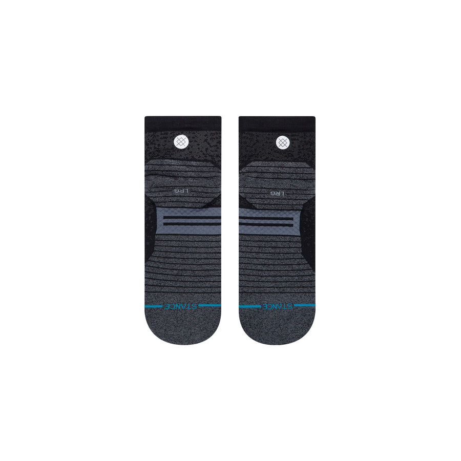STANCE Run QTR ST Socks Black