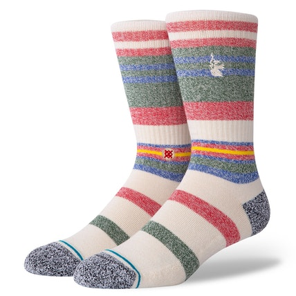 STANCE Munga Socks Natural MENS ACCESSORIES - Men's Socks Stance