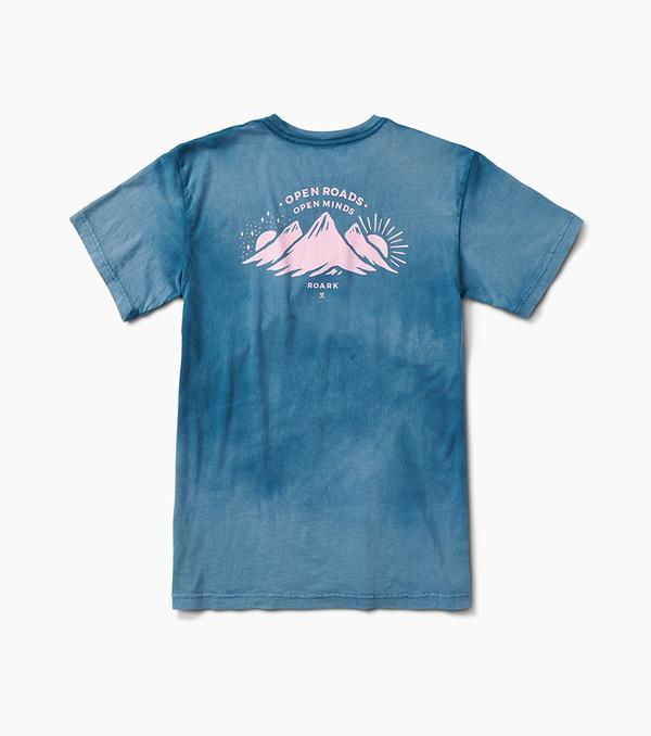 ROARK Mountains S/S T-Shirt Marine Blue