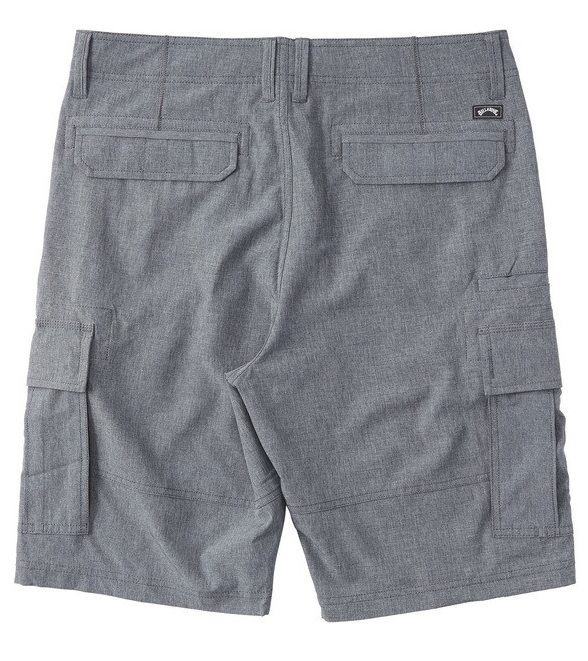 BILLABONG Combat Bottle Opener Submersible Hybrid Shorts Charcoal Heather