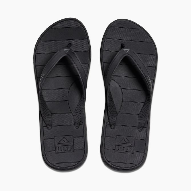REEF Switchfoot LX Black Sandals FOOTWEAR - Men's Sandals Reef