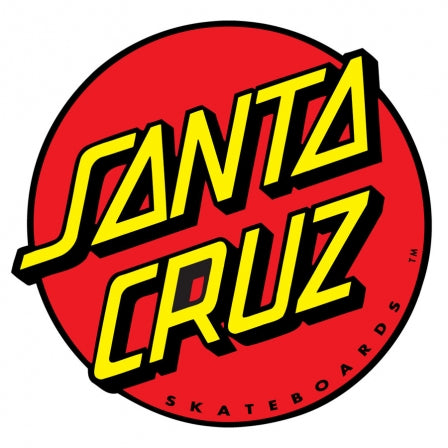SANTA CRUZ Classic Dot 3in Sticker