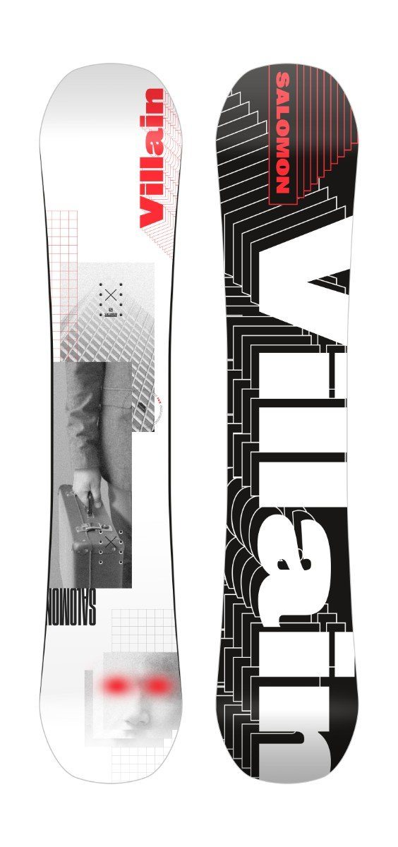 SALOMON Villain Grom Youth Snowboard 2021 Snowboards - Youth Snowboards Salomon