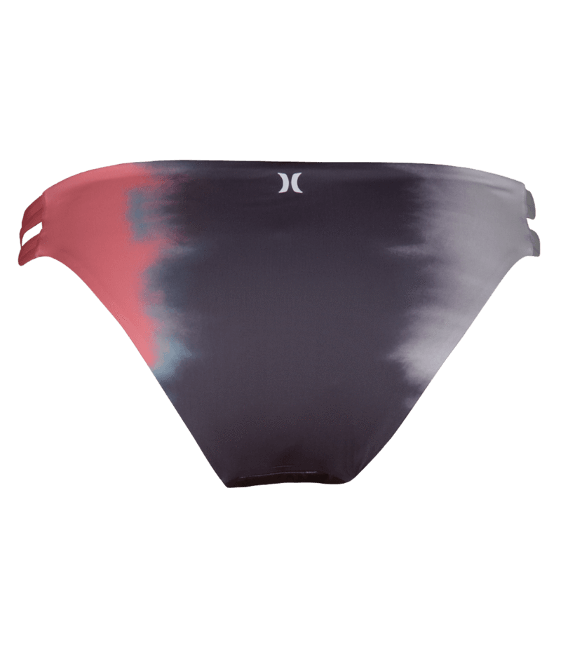 HURLEY Quick Dry Max Gradient Surf Bikini BottomGunsmoke WOMENS APPAREL - Women's Swimwear Bottoms Hurley