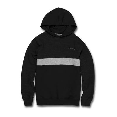 VOLCOM Single Stone Div Pullover Hoodie Youth Black