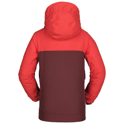 VOLCOM Holbeck Insulated Youth Snowboard Jacket Fire Red 2019 YOUTH INFANT OUTERWEAR - Youth Snowboard Jackets Volcom