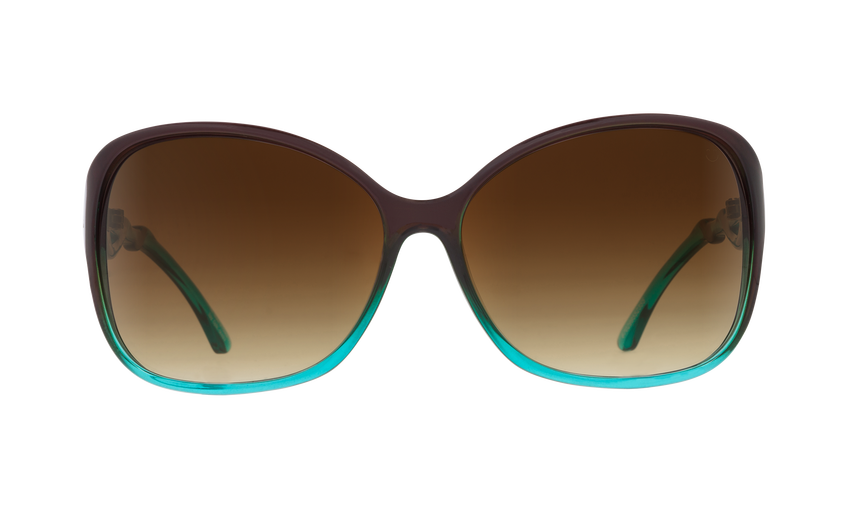 SPY Fiona Mint Chip Fade - Happy Bronze Fade Sunglasses