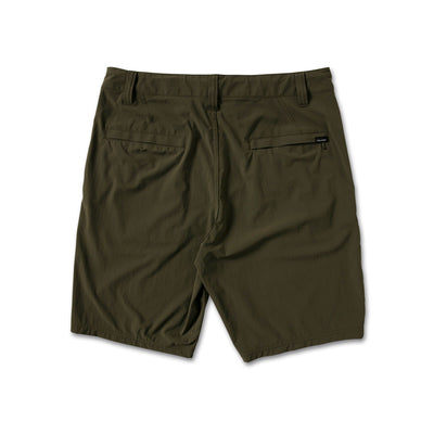 "VOLCOM Bohnes 20"" Hybrid Shorts Military MENS APPAREL - Men's Hybrid Shorts Volcom"