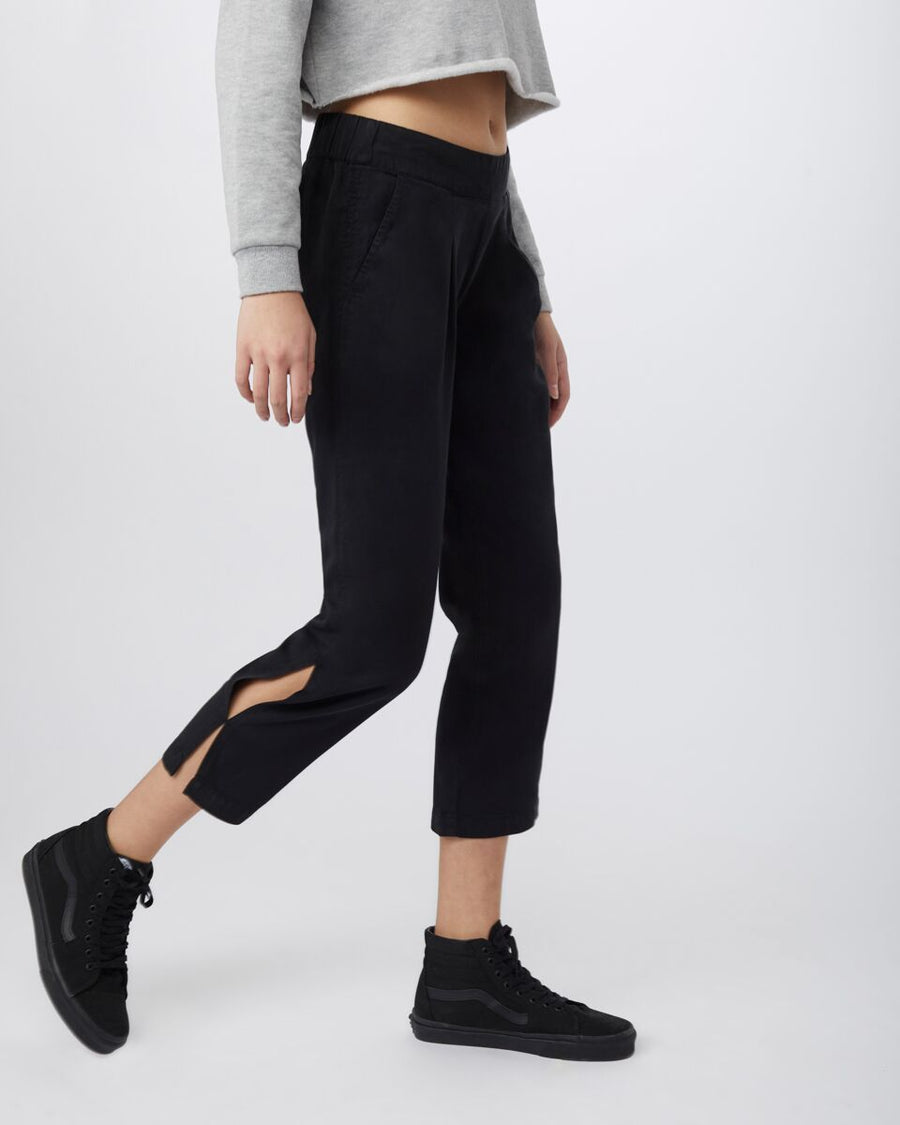 TENTREE Langford 7/8 Pants Meteorite Black