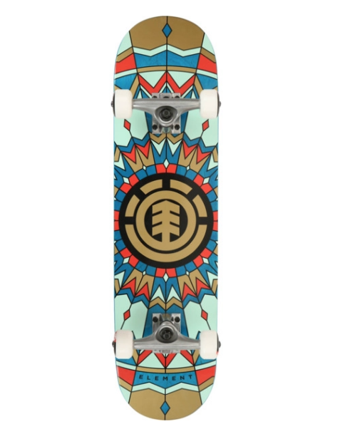 ELEMENT Zube 7.75 Skateboard Complete