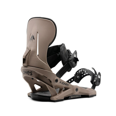 JONES Mercury Snowboard Bindings Natural 2021 SNOWBOARD BINDINGS - Men's Snowboard Bindings Jones Snowboards