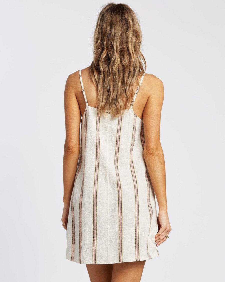 BILLABONG Straight Round Dress Women's Cool Whip WOMENS APPAREL - Women's Dresses Billabong