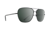 SPY Tatlow Black - HD Plus Grey Green With Black Spectra Mirror Sunglasses